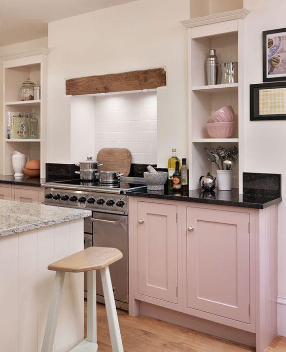 decorating - pink kitchen