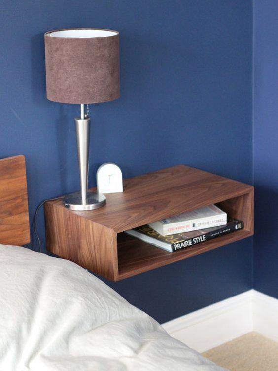 More space bedside locker