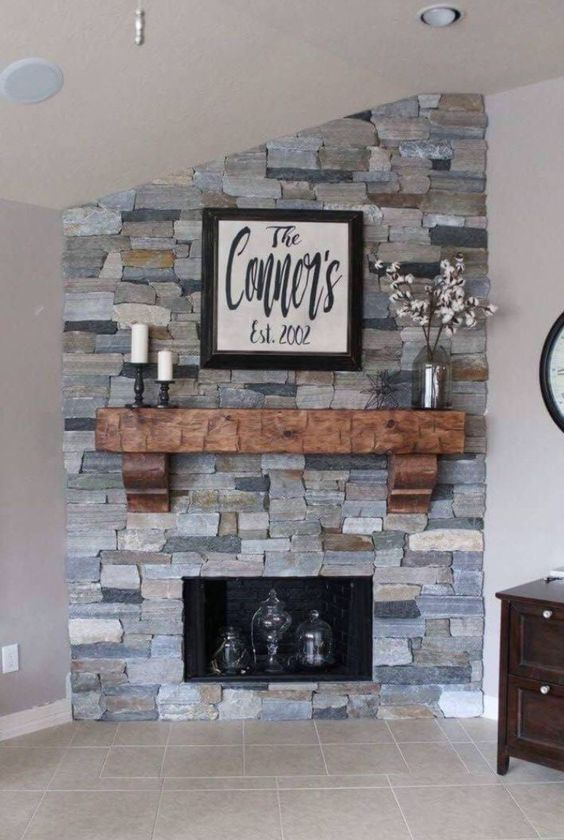 false fireplace mantel