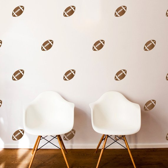 football wallpaper stickers
