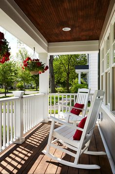 front porch rocking chairs