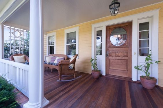 front porch verandah