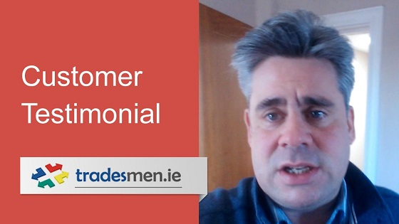 Guy Fagan Tradesmen.ie Testimonial