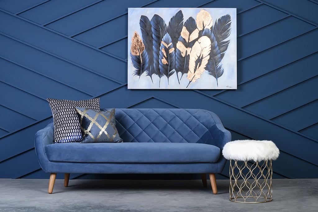Blue Prospect sofa Michael Murphy