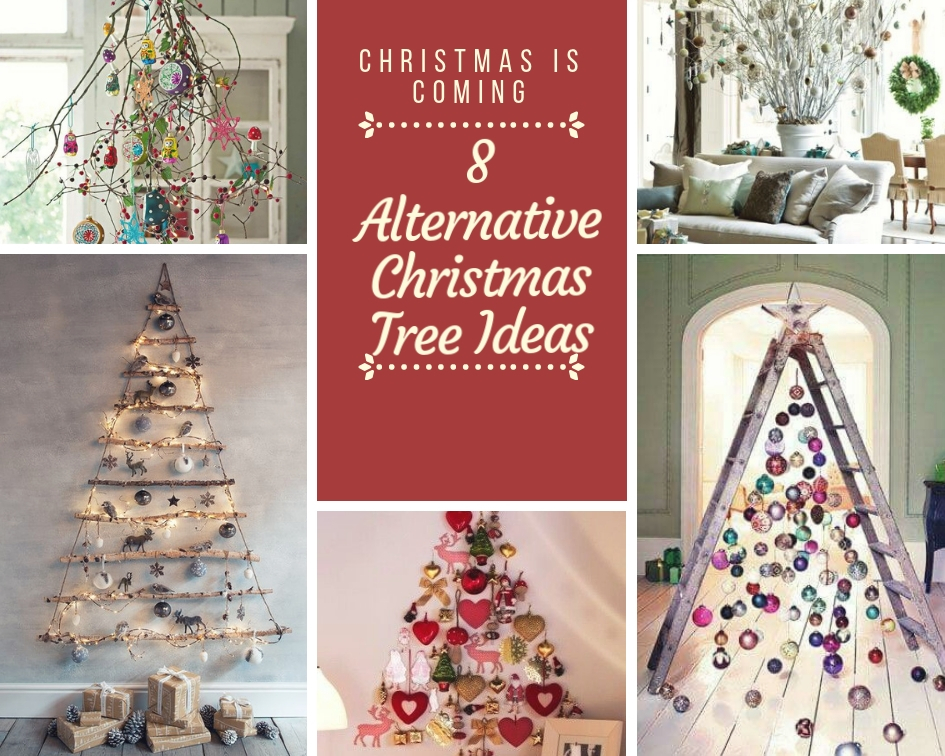8 Alternative Christmas Tree Ideas