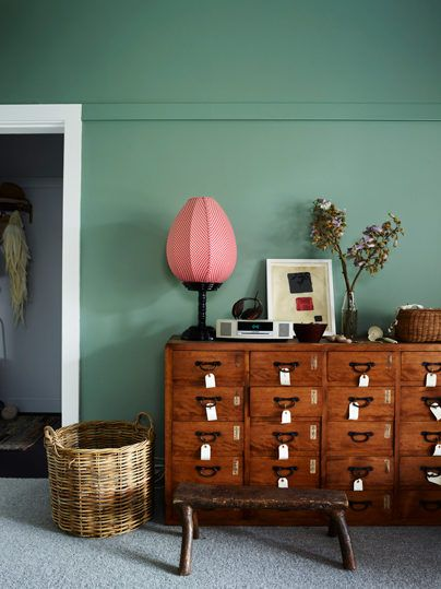 trends green paint colour