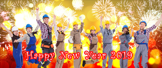 Happy New Year 2019 from Tradesmen.ie