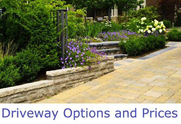 Driveway Surface Options and Prices