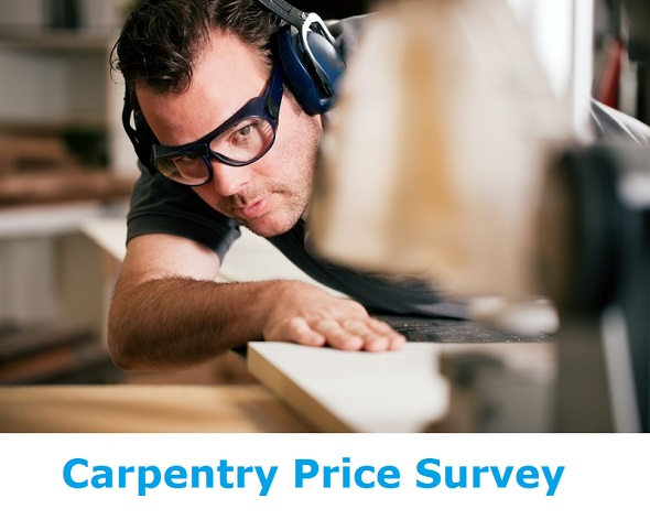 carpentry price survey