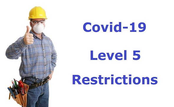 Covid-19 Level 5 Restrictions