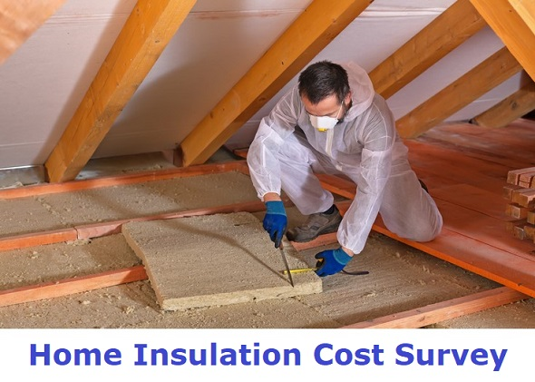 home insulation cost survey
