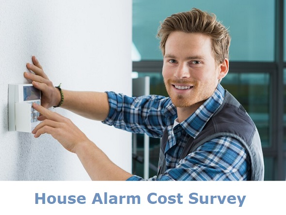house alarm cost survey