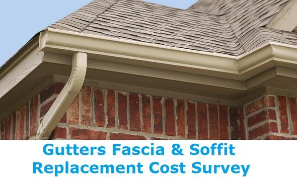 gutters fascia soffit replacement survey
