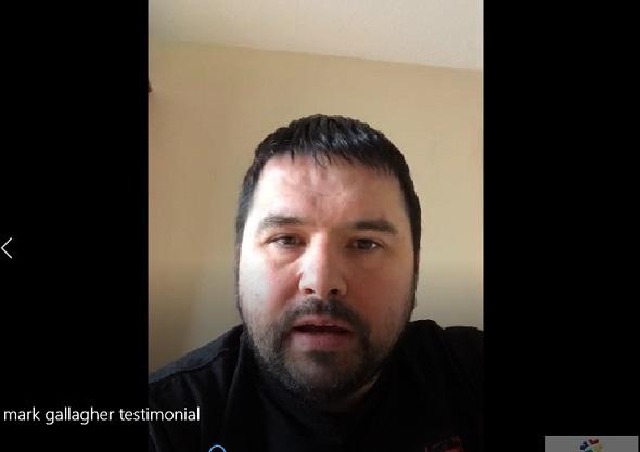 mark gallagher testimonial for tradesmen.ie