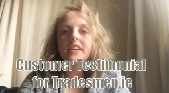 Helena White Testimonial for Tradesmen.ie