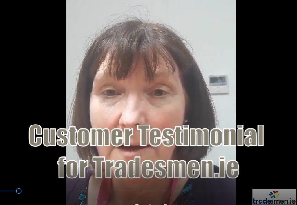 Tradesmen.ie Testimonial