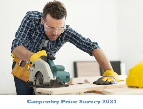 Carpentry price survey 2021 - Tradesmen.ie Blog